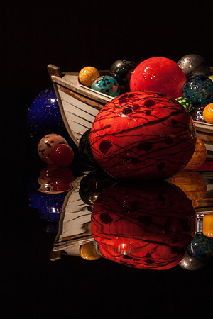 Photograph of glass art